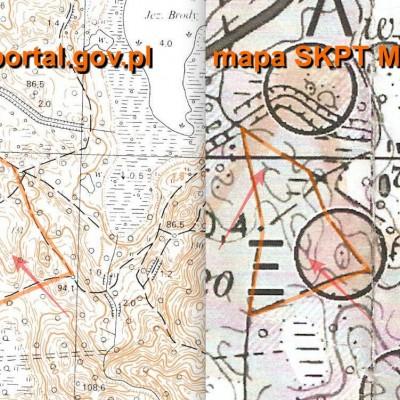 Z cyklu: jak to górka dołkiem była - błędy na mapie dostarczonej przez SKPT