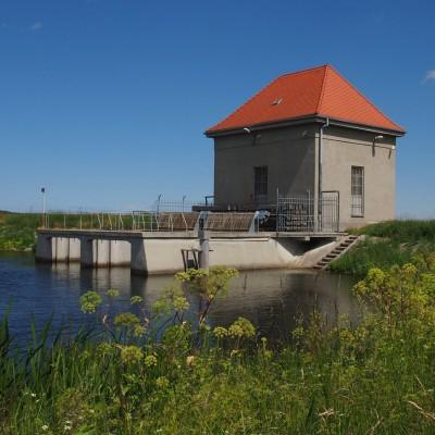 Zamek wodny na Jez. Bielkowskim