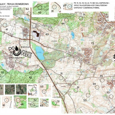 Mapa trasy TR