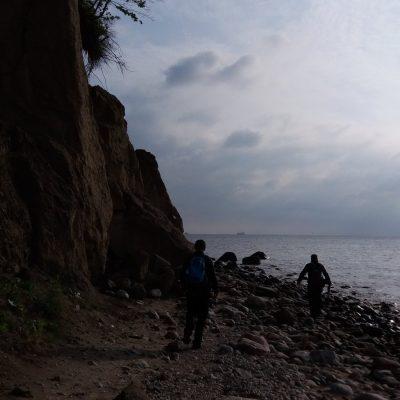 Przy klifie w Redłowie