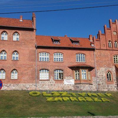 Najcenniejszy zabytek Olsztynka - XIV w. zamek krzyżacki