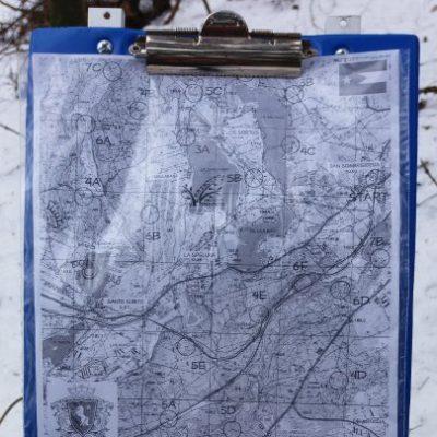 Mapa trasy jaką otrzymałem - startowaliśmy w San Escobar :)