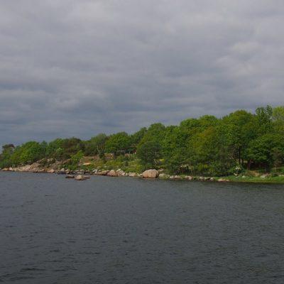 Widok na p�³��nocno-zachodni kraniec wyspy