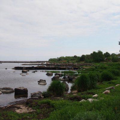 Widoki na wyspie